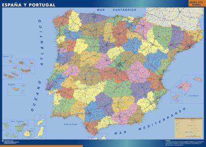 mapa imanes espana